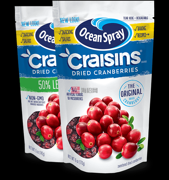 美国蔓越莓CRAISINS® DRIED CRANBERRIES
